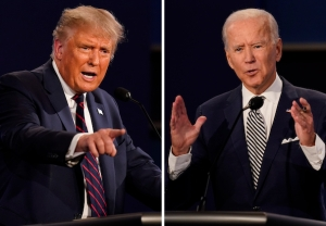 Donald Trump vs. Joe Biden First Presidential Debate Poll