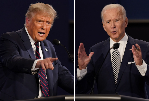 Presidential Debate Poll Donald Trump Vs Joe Biden Chris Wallace Tvline