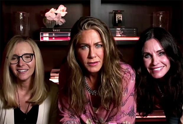 Jennifer Aniston Hosts Surprise Friends Reunion During 2020 Emmys — Watch