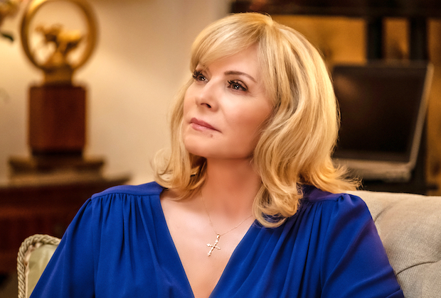 kim cattrall filthy rich fox