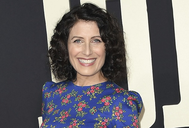 Lisa Edelstein arrives at the JOJO RABBIT Los Angeles Premiere held at the Hollywood American Legion Post 43 in Hollywood, CA on Tuesday, October 15, 2019. (Photo By Sthanlee B. Mirador/Sipa USA)(Sipa via AP Images)