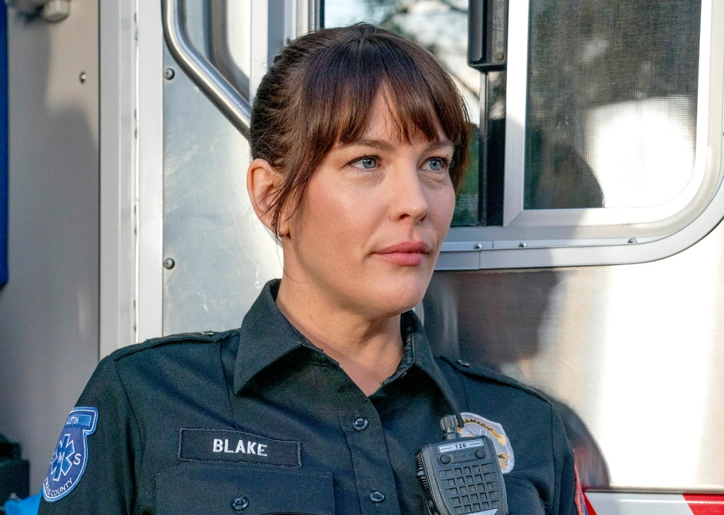9-1-1: LONE STAR: Liv Tyler in the ìMonster Insideî episode of 9-1-1: LONE STAR airing Monday, March 2 (8:00-9:01 PM ET/PT) on FOX. ©2020 Fox Media LLC. CR: Jack Zeman/FOX.