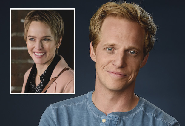 "Chris Geere, a cast member in the FXX series ""You're the Worst,"" poses for a portrait during the 2016 Television Critics Association Summer Press Tour at the Beverly Hilton on Tuesday, Aug. 9, 2016, in Beverly Hills, Calif. (Photo by Chris Pizzello/Invision/AP)"
