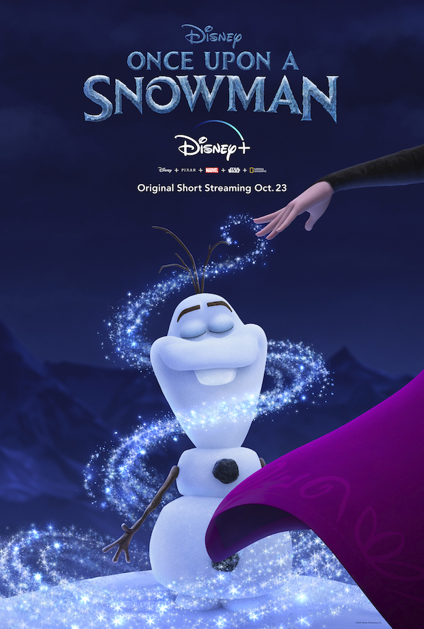 Frozen Once Upon a Snowman