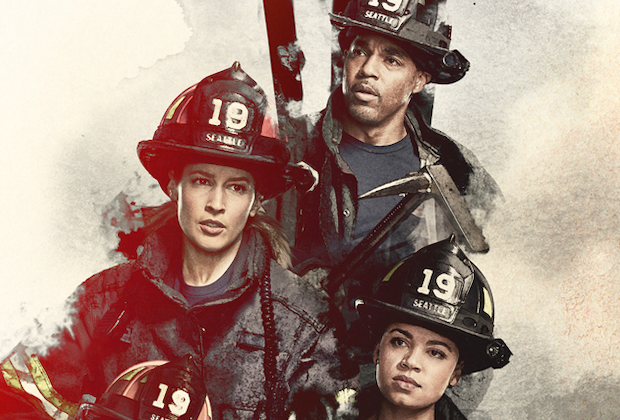 Station 19 Firefighters Are Envisioned as Super Heroes in Season 4 Poster