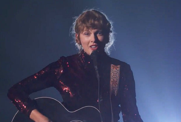 Taylor Swift Performs Betty at ACM Awards 2020 - Watch