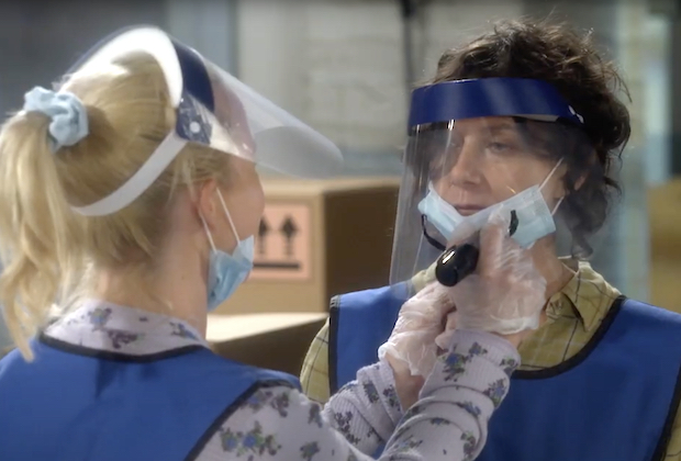 The Conners Trailer: Darlene and Becky Take Jobs at Wellman Plastics Amid Pandemic in Season 3 — Watch