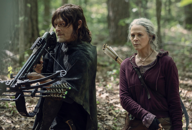 the walking dead daryl carol spinoff AMC series order