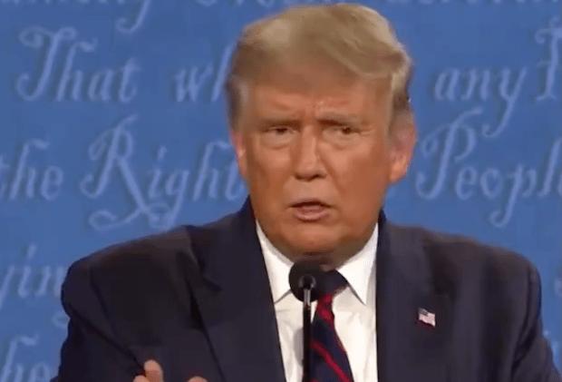 Trump Denounce Proud Boys
