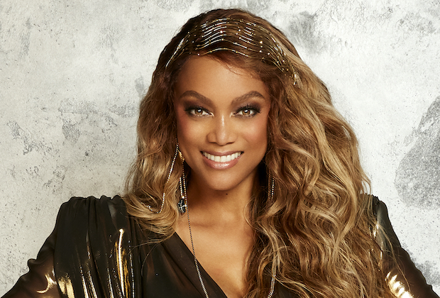 Tyra Banks Hosting DWTS