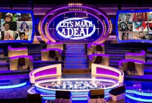 Let's Make a Deal: Socially Distanced Set Features Mostly Virtual Audience
