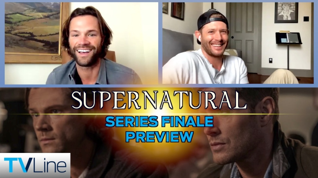 Supernatural Video: Jensen Ackles and Jared Padalecki Tease Dean and Sam's Ending, Talk 'Bizarre' Last Day on Set