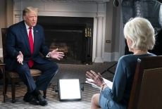 President Trump Leaks 60 Minutes Interview Footage After Walking Out