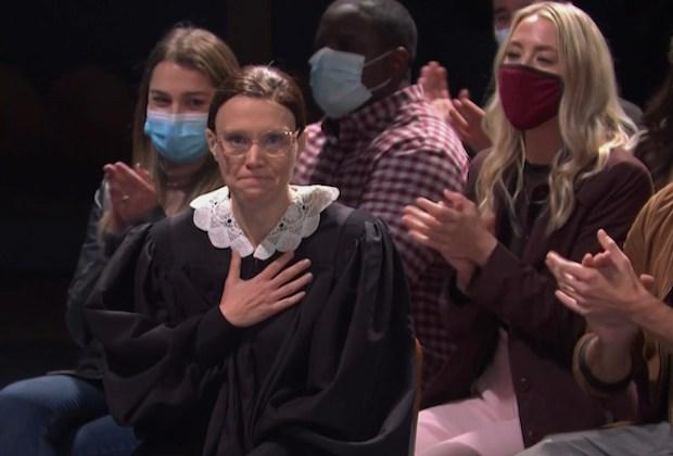 Kate McKinnon RBG Tribute - SNL Premiere