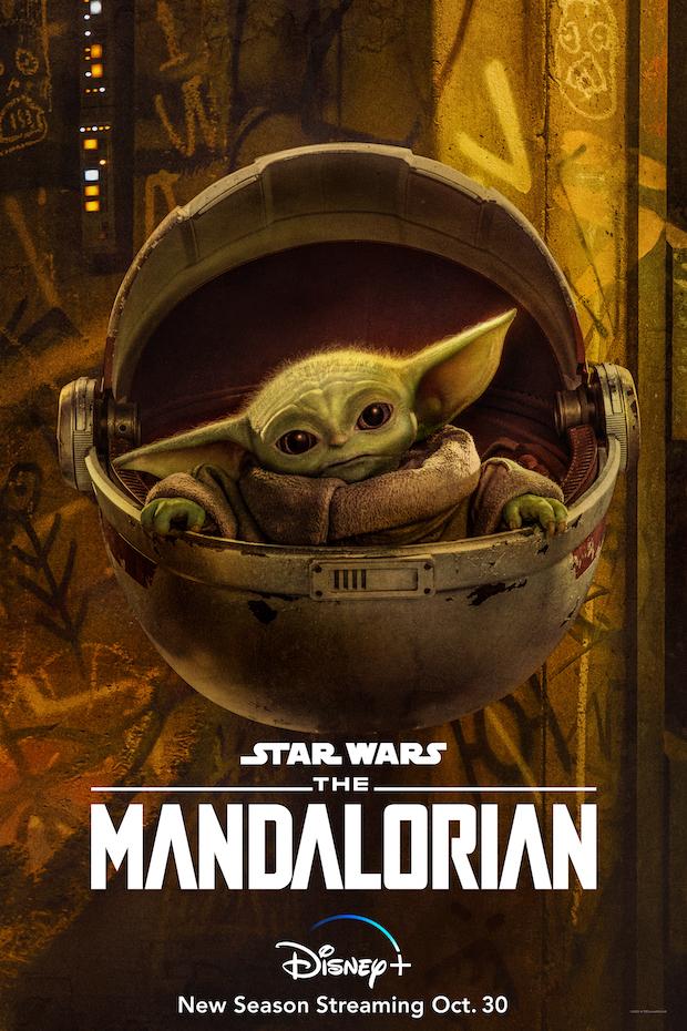 Mandalorian' 'The Yoda 2 Character Posters:  Season Baby