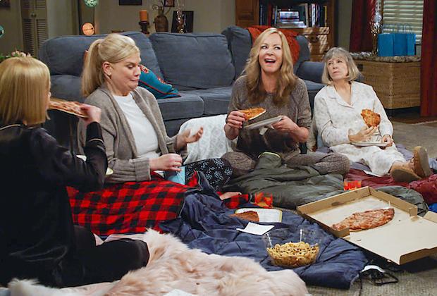 Mom Season 8 Christy Leaving