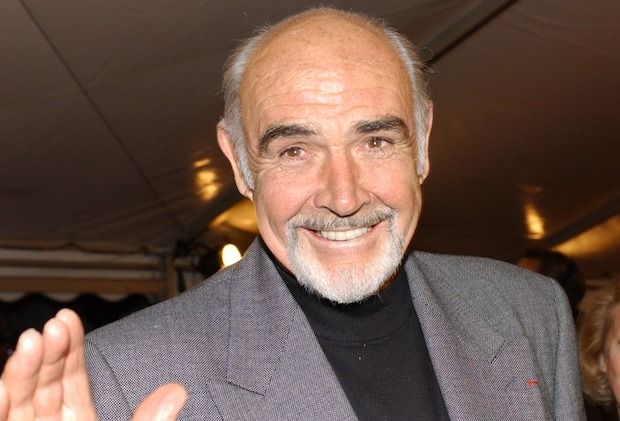 "Sean Connery at the German premiere of ""The League of Extraordinary Gentlemen"" in Berlin. Photo by: SCHROEWIG/Eva Oertwig/picture-alliance/dpa/AP Images"