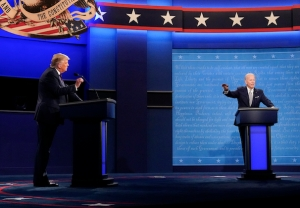 Donald Trump vs. Joe Biden Presidential Debate 2020
