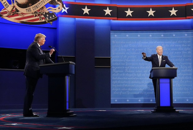 Donald Trump vs. Joe Biden Presidential Debate 2020