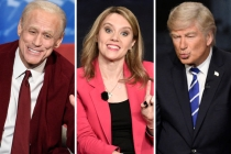 'SNL' Video: 'Badass' Savannah Guthrie Grills 'Crazy Uncle' Trump; Biden Morphs Into Mr. Rogers During Town Hall