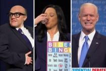SNL Parodies Second Debate, Casts Maya Rudolph as Kristen Welker -- Plus, Rudy Giuliani Pulls Another 'Borat'