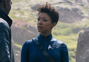 Star Trek Discovery Season 3 Premiere Burnham Book