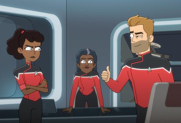 Star Trek Lower Decks finale