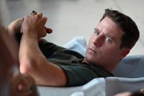 The Right Stuff's Jake McDorman Talks the Scene That Tested His Stomach and Alan Shepard's Complicated Marriage