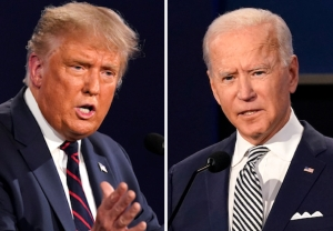 Donald Trump vs. Joe Biden Presidential Debate - Election 2020