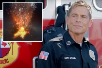 9-1-1: Lone Star Pits Rob Lowe Against a Volcano in Season 2 Promo -- Watch