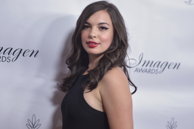 Isabella Gomez arrives at the 34th annual Imagen Awards on Saturday, Aug. 10, 2019, at the Beverly Wilshire Hotel in Beverly Hills, Calif. (Photo by Richard Shotwell/Invision/AP)