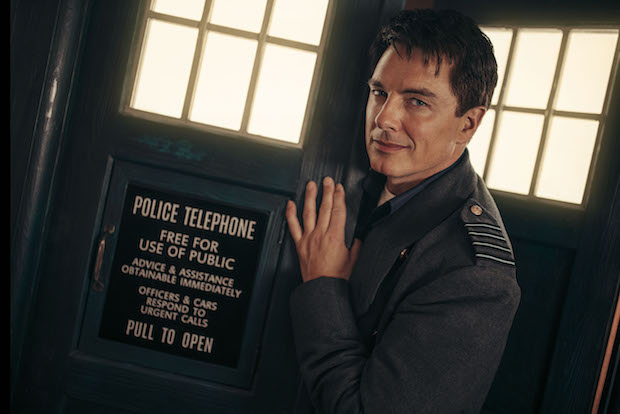 John Barrowman as Captain Jack Harkness - Doctor Who: Revolution of the Daleks - Photo Credit: James Pardon/BBCA