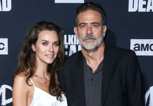 Jeffrey Dean Morgan and Hilarie Burton