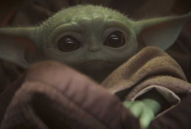 Mandalorian Baby Yoda Abandoned
