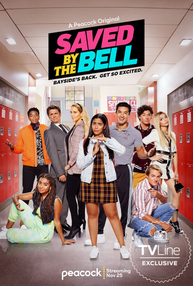 Saved by the Bell Revival Poster