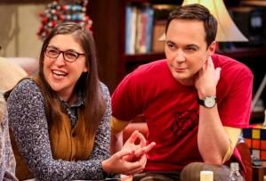 The Big Bang Theory - Sheldon and Amy in Season 12