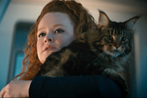 Star Trek: Discovery Video: Tilly Has a Close Encounter With Grudge the Cat