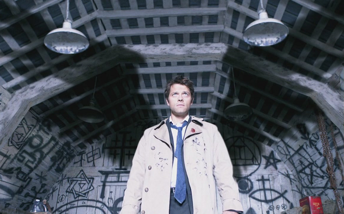 Supernatural Castiel Intro