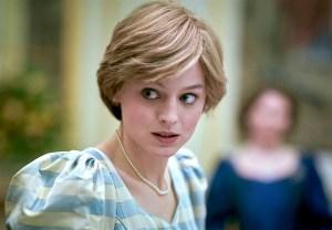The Crown Princess Diana Emma Corrin Season 4 Netflix