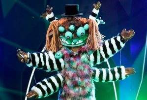 The Masked Singer Bob Saget Squiggly Monster Season 4 Interview Video
