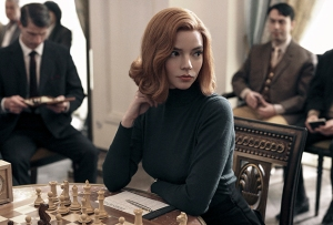 Anya Taylor-Joy Wins Best Actress in Limited Series for Queen's Gambit — Golden Globes 2021