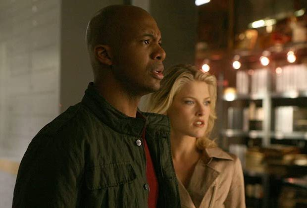 Leonard Roberts and Ali Larter Tension Heroes