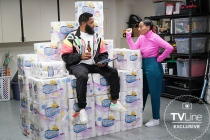 black-ish's Dre Rolls Into the New Year Prepared -- 2021 FIRST LOOK