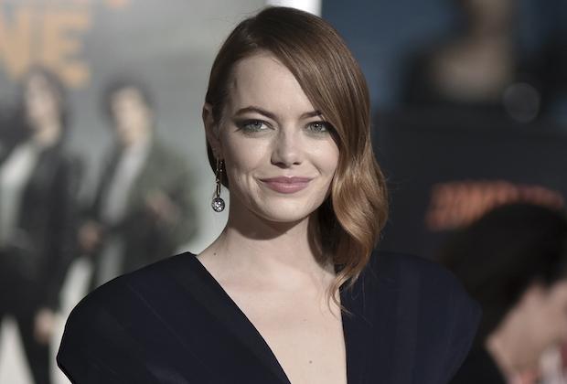 Emma Stone The Curse Cast Showtime