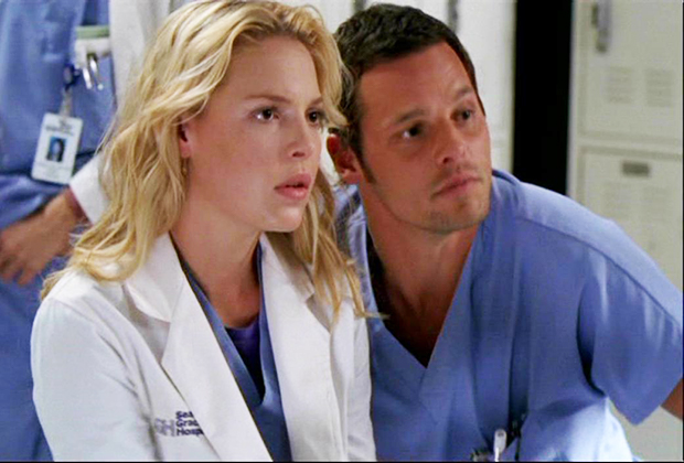 Grey's Anatomy Alex Izzie