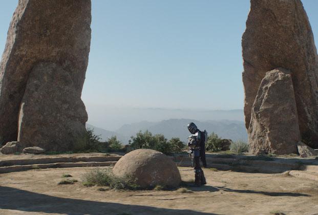Mandalorian 2x06 seeing stone