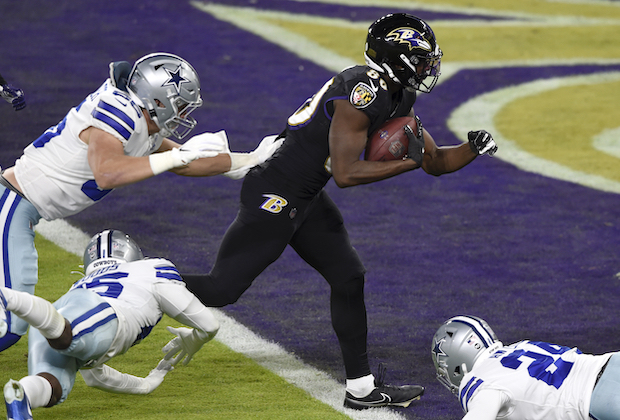 NFL Ratings Ravens Cowboys