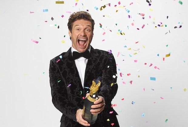 Ryan Seacrest hosting Dick Clark's New Year's Rockin' Eve 2021