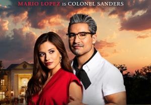 Mario Lopez Colonel Sanders