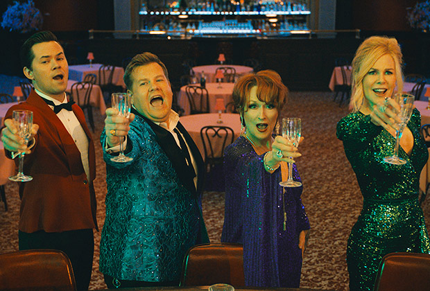 The Prom' Netflix Review: James Corden's Performance As Gay Character |  TVLine